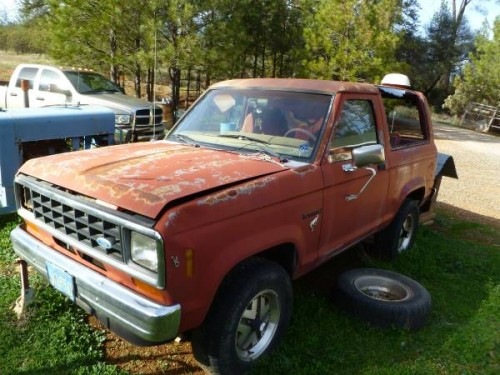 1984 Ford Bronco II V4 Automatic For Sale in Midpines, CA