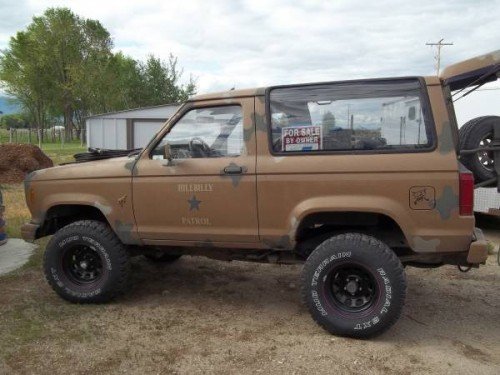 1985 Ford Bronco Ii 2 8 V6 Manual For Sale In Stevensville Mt