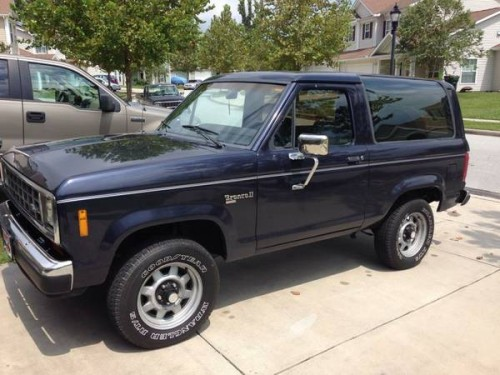 1988 Ford Bronco II Automatic For Sale In Jacksonville, NC