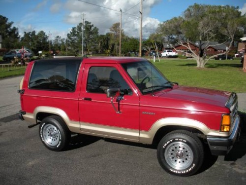 1990 ford bronco ii 6 cylinders auto for sale in cambria ca. Black Bedroom Furniture Sets. Home Design Ideas