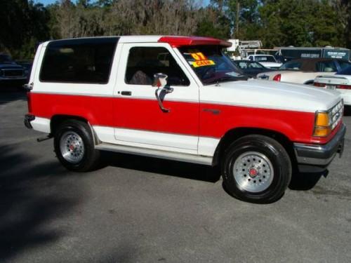 1989 ford bronco ii 2 9l v6 auto for sale in brooksville fl. Black Bedroom Furniture Sets. Home Design Ideas
