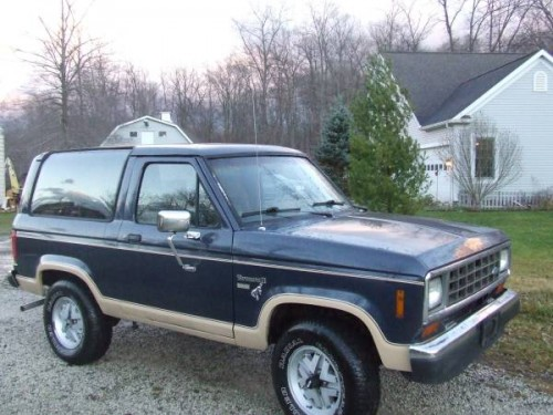 1986 ford bronco ii 2 9 v6 auto for sale in streetsboro oh. Black Bedroom Furniture Sets. Home Design Ideas
